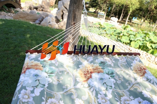 Printing Hammock with quilted 1